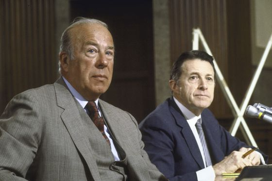 George Shultz, Who Led U.S. Cold-War Diplomacy, Dies