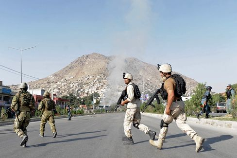 Taliban Kill 8 in Bombing at British Council in Kabul