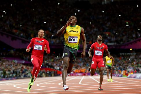 A Priceless (Really) Olympic Ticket to See Usain Bolt