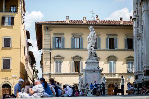 Piazza di Santa Croce in Florence.