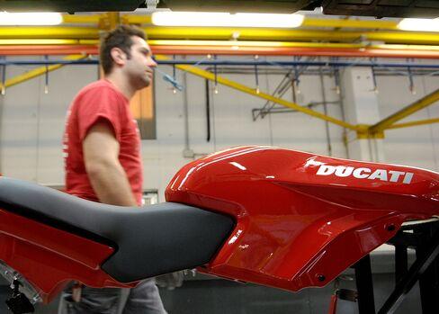 Audi Said in Talks to Buy Italian Motorcycle Maker Ducati