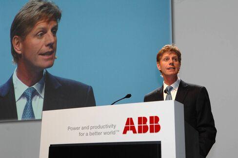 Outgoing ABB CEO Joe Hogan