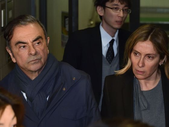 Macron Vows Vigilance on Ghosn Treatment After Wife Cries Foul