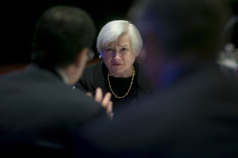 U.S. Fed Chair Janet Yellen