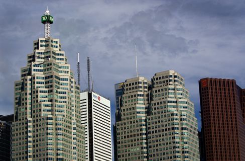 Moody's Places Six Canadian Banks on Review for Downgrade