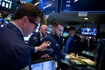 Trading On The Floor Of The NYSE As U.S. Stocks Move Higher