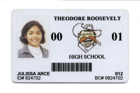 At Roosevelt High School in 2000, Arce excelled at math.