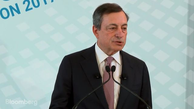 Post-Draghi surge drives euro to one-year high