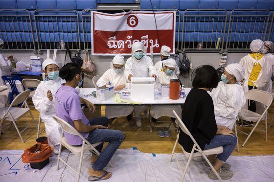 Thailand Rethinks Vaccine Plan as Virus Flareup Hits Economy