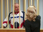 Sergei Skripal during a court hearing in Moscow in 2006.