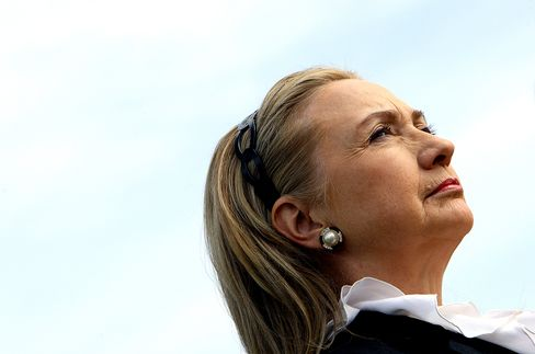 Clinton Says She's Leaving 'Very Fast Track for a Little While'