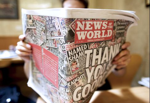 News of the World Staff Offered Siberia, Dow Jones Postings