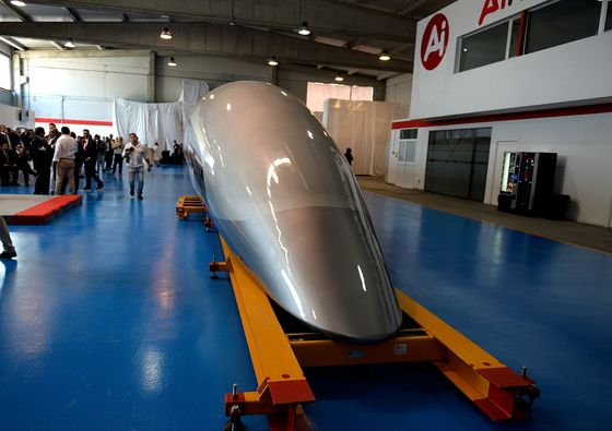 First Hyperloop Passenger Capsule Unveiled