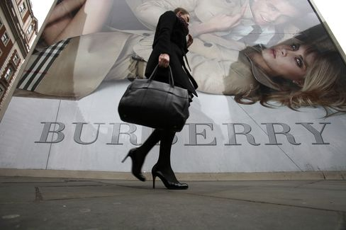 Burberry's Stagnating Sales Indicate End to Luxury-Goods Boom