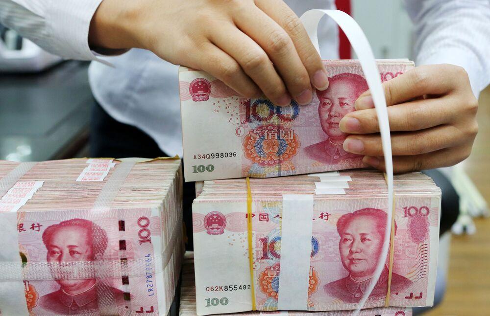 中国人民元の下落、トランプ政権が懸念と米高官-為替報告書の公表前 ...