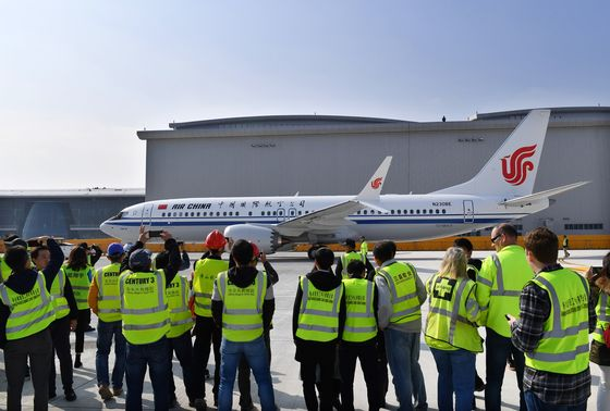 Boeing Delivers First 737 From China Plant as Trade War Simmers
