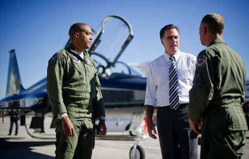 Romney's Defense Spending Pledge Wouldn't Be Reached For Years
