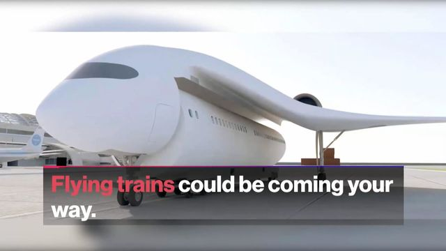 Flying Trains Could Be Coming Your Way