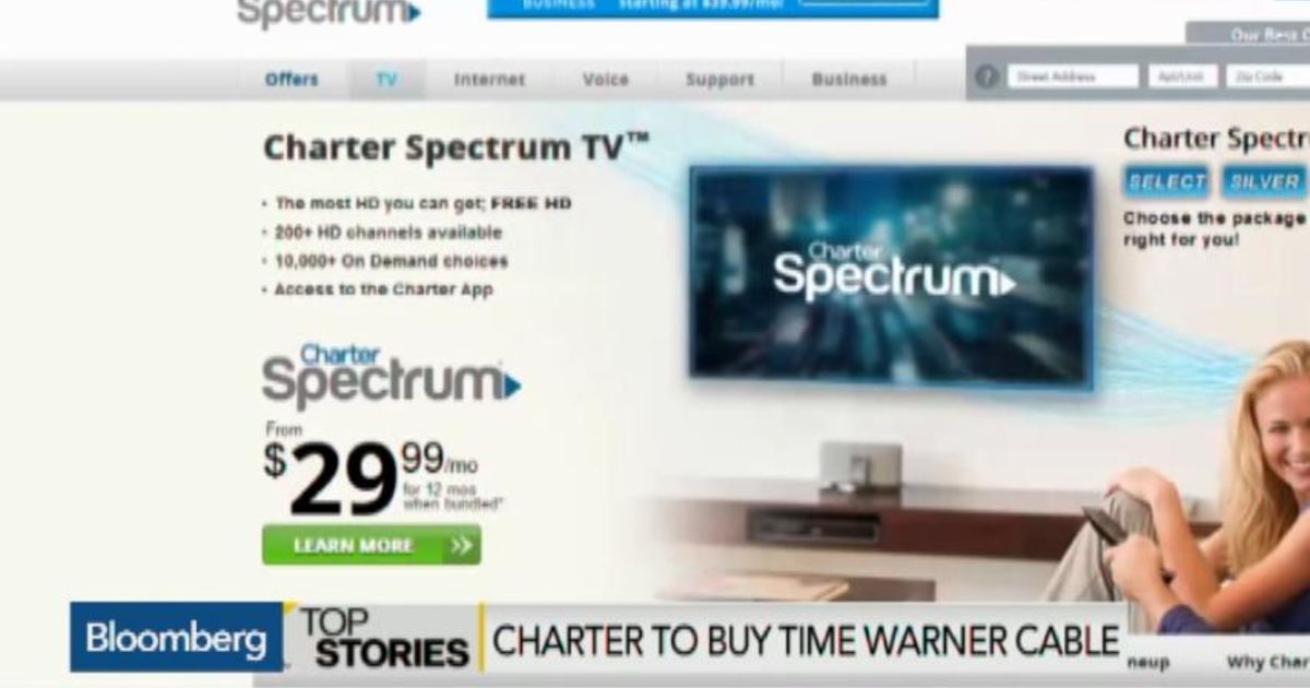 Charter to Acquire Time Warner Cable in $55B Deal – Bloomberg