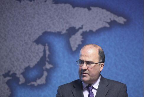 Colombia Bank chief Jose Dario Uribe