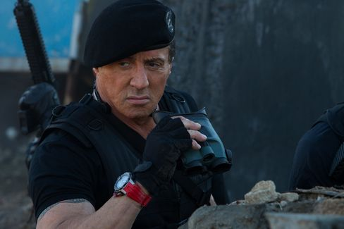 Sylvester Stallone in Lionsgate Home Entertainment's The Expendables 3.