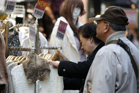 Japan Consumer Prices Slide