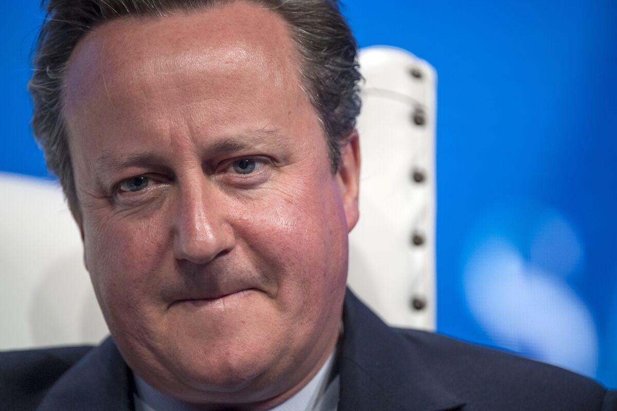 Opinion | David Cameron's Greensill Escapade Is a Sorry Tale