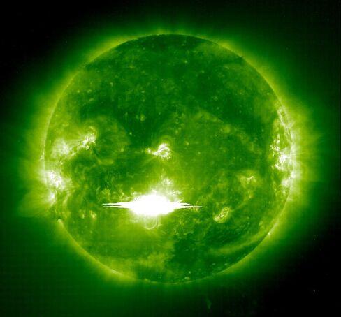 2003年の太陽フレア