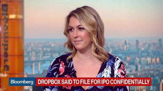 Online file storage company Dropbox confidentially files for IPO
