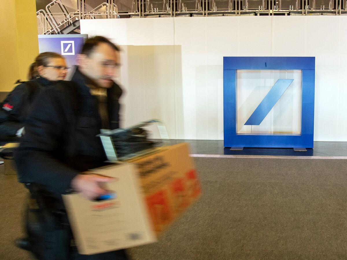Deutsche Bank Starts Shrinking