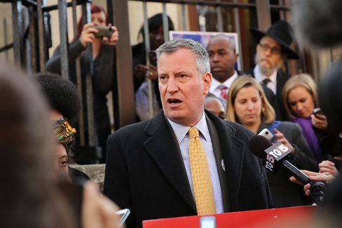 Elected New York Mayor Bill de Blasio