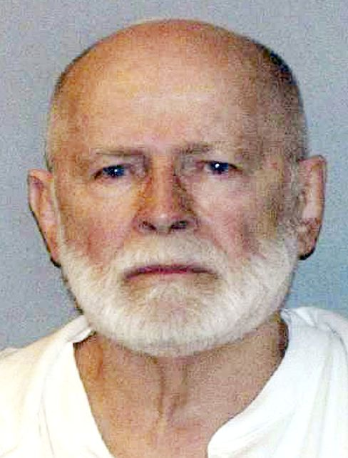 "This June 23, 2011 booking photo provided by the U.S. Marshals Service shows James ""Whitey"" Bulger."