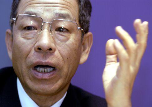 Former Olympus Corp. President Tsuyoshi Kikukawa