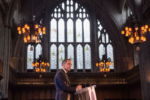 Mark Carney at BOE Open Forum