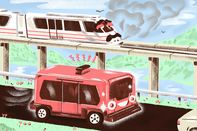 relates to A Florida Monorail Makes Way for the Robot Bus of Tomorrow