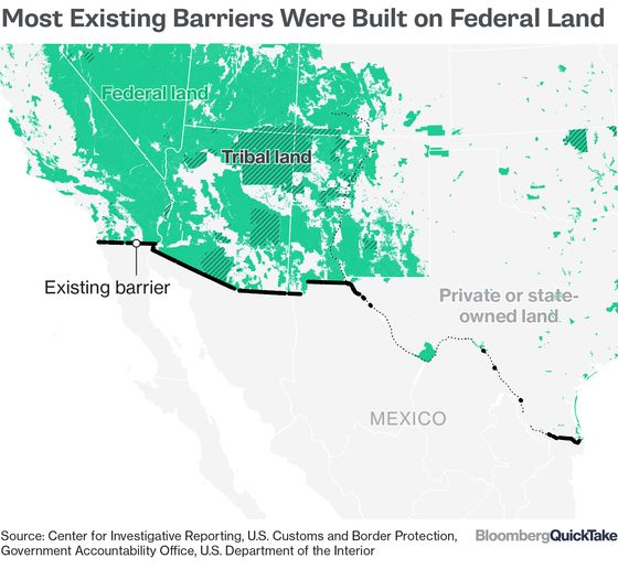 About That Wall Trump Said Mexico Would Be Paying For...