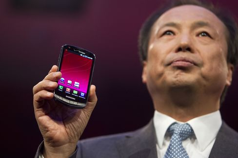 Samsungs Electronic's J.K. Shin