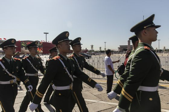 Xi Military Parade to Showcase China Missiles Spooking the U.S.