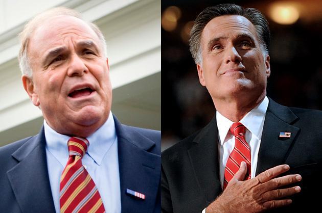 Mitt Romney vs. Ed Rendell