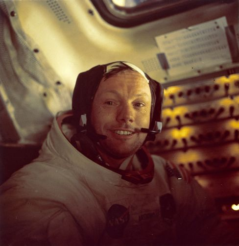 Neil Armstrong, Whose 'Giant Leap' Put Man on Moon