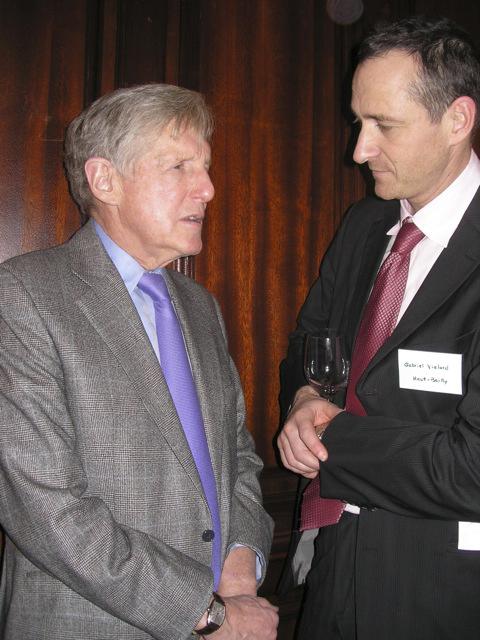 Robert Wilmers and Gabriel Vialard