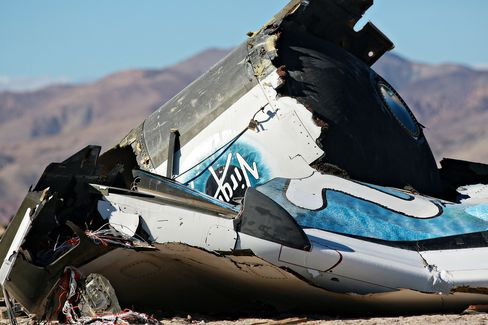 Virgin Galactic SpaceShipTwo Crashes During Test Flight In Mojave Desert