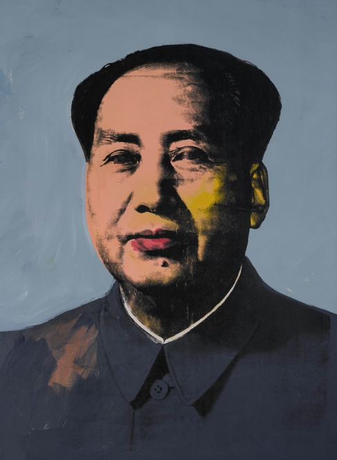 """Mao"" by Andy Warhol"
