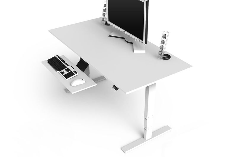 High Tech Desk five high-tech standing desks that look good, too - bloomberg