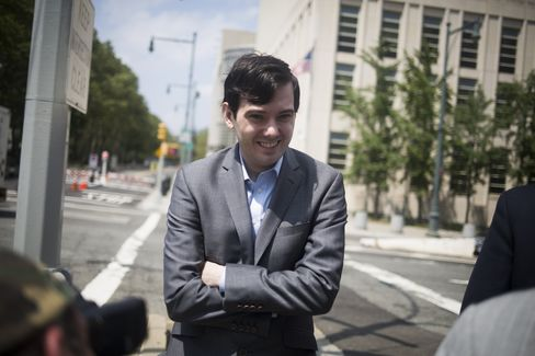 Martin Shkreli on July 14.