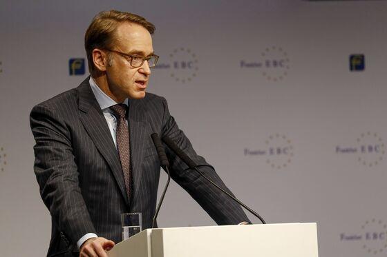 Weidmann Says ECB Stimulus Risks Hurting Market Discipline
