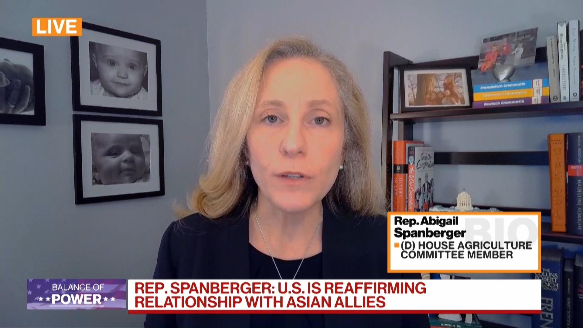 Rep. Spanberger Says Asia Tour is Central to Biden Foreign Policy Strategy thumbnail
