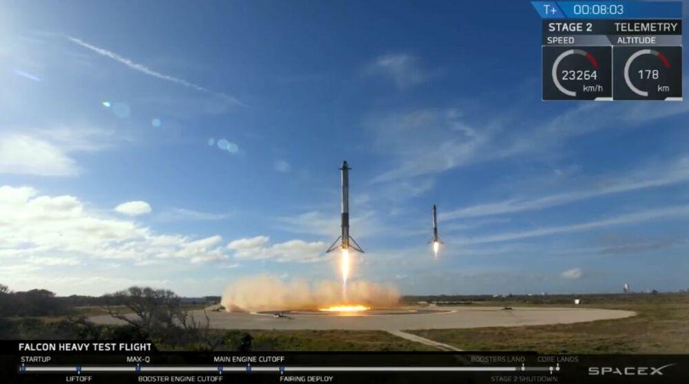 Musk rocket