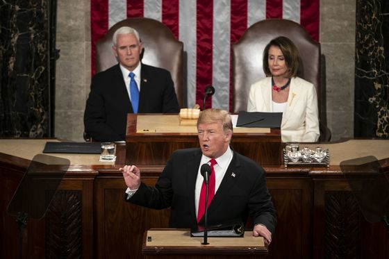 Trump Yields No Ground to Democrats in Combative State of Union