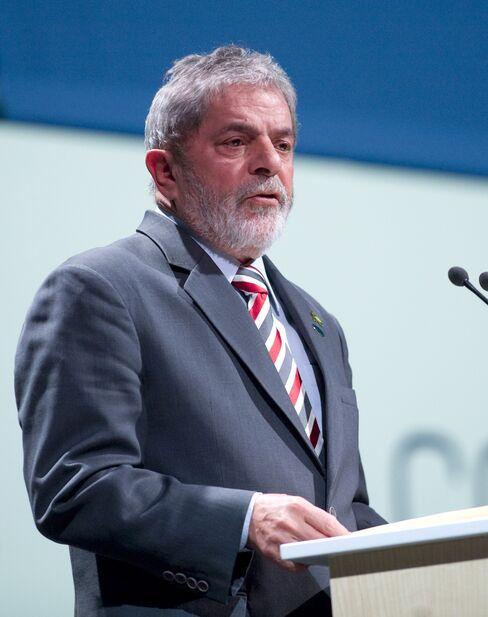 Brazil's President Luiz Inacio Lula da Silva